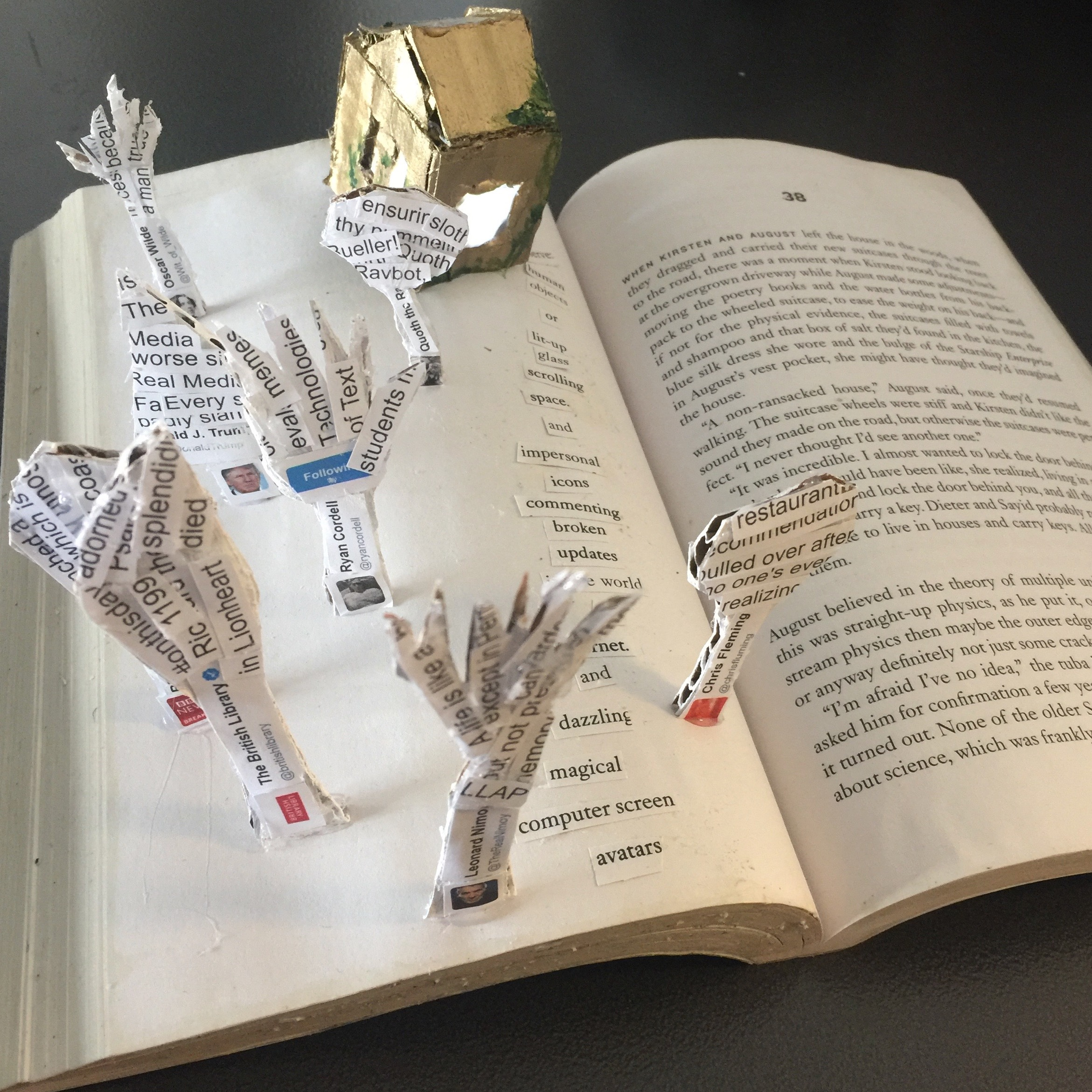 An altered book project